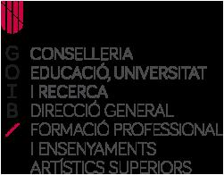 logo Direcció General de Formació Professional
